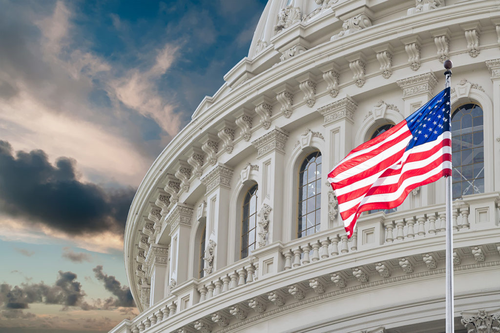 Chairman and Ranking Minority Member of Senate Judiciary Committee introduce Resolution 252 to establish National Democracy Month